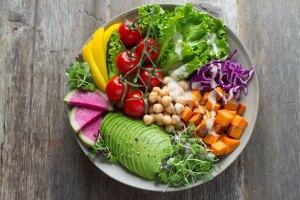 Vegetarian Blog Post Bowl